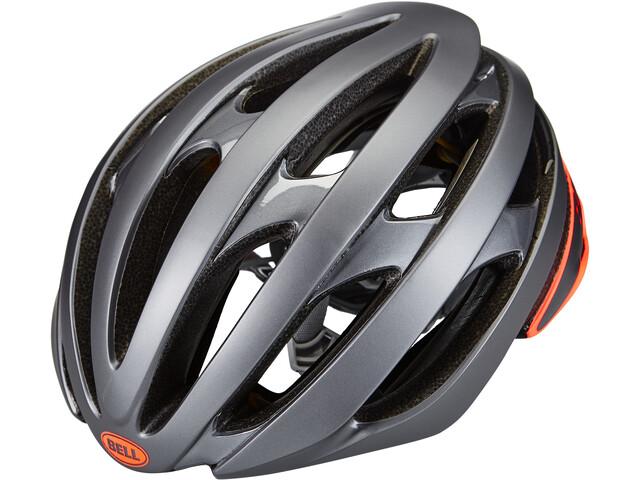 Bell Stratus MIPS Helm matte/gloss gray/infrared